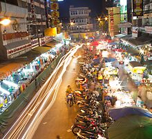 Busy Streets of Chiang Mai 1 by DisplacedDesign