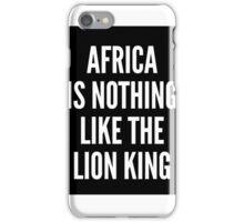 Africa- Book Of Mormon iPhone Case/Skin