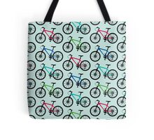 mountain bike multi   Tote Bag