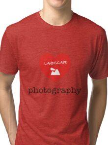 landscape photography Tri-blend T-Shirt