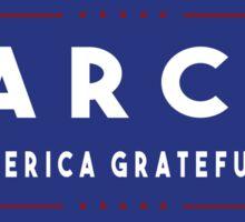 Grateful Dead Jerry Garcia Make America Grateful Again Sticker