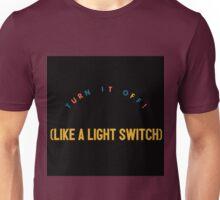 Light Switch- Book Of Mormon Unisex T-Shirt
