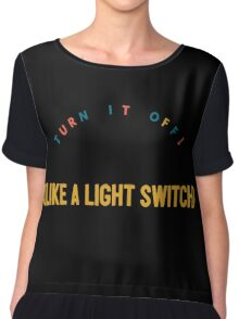 Light Switch- Book Of Mormon Women's Chiffon Top