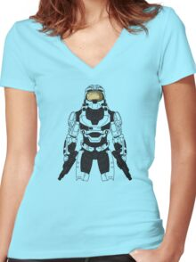 MJOLNIR Women's Fitted V-Neck T-Shirt
