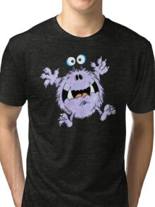 Frightened Fred Tri-blend T-Shirt