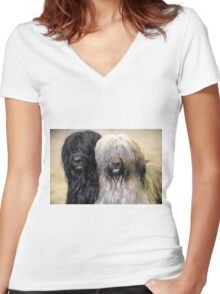Coco & Loki Women's Fitted V-Neck T-Shirt