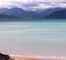 Isle of Skye from Applecross Peninsula by derekbeattie