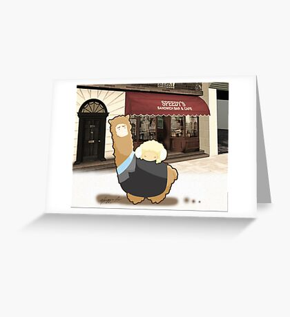 Johnlock - Llamalock and Ramjohn 221B Greeting Card