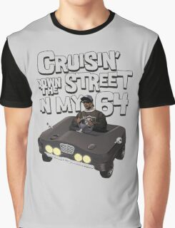 Cruisin Down The Street in my 64 Graphic T-Shirt