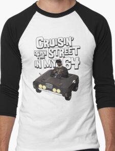 Cruisin Down The Street in my 64 Men's Baseball ¾ T-Shirt