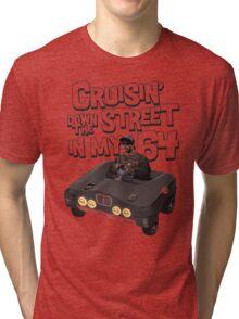 Cruisin Down The Street in my 64 Tri-blend T-Shirt
