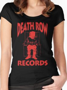 Deathrow Records Women's Fitted Scoop T-Shirt