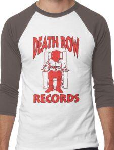 Deathrow Records Men's Baseball ¾ T-Shirt