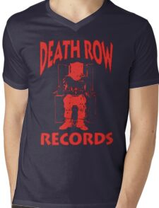 Deathrow Records Mens V-Neck T-Shirt