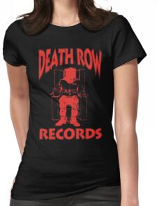 Deathrow Records Womens Fitted T-Shirt