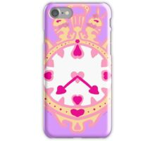 LIKE CLOCK WORK(GOLD AND PURPLE) iPhone Case/Skin