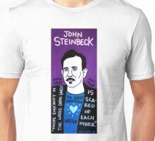 John Steinbeck Pop Folk Art Unisex T-Shirt