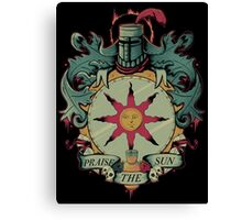 Crest Of The Sun Canvas Print