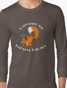 I Survived The Fursuit Parade (Fox) Long Sleeve T-Shirt