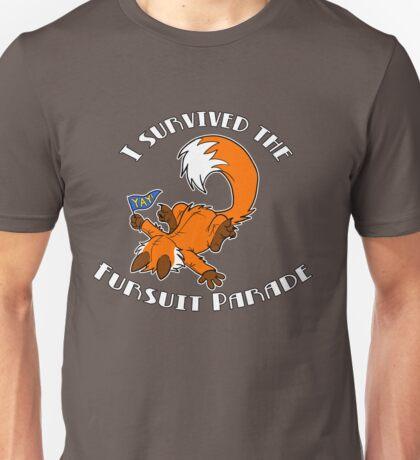 I Survived The Fursuit Parade (Fox) Unisex T-Shirt