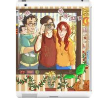 James, Lily & Sirius iPad Case/Skin