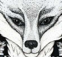 Fox Mandala Sticker  Sticker