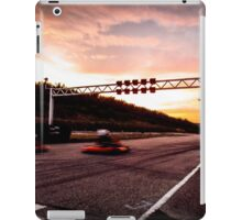Racing into the sunset iPad Case/Skin