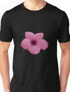 Pink Potato Flower Unisex T-Shirt