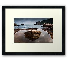 Rock Pool, Knysna, South Africa Framed Print