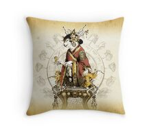 The Automaton Fortune Teller Throw Pillow