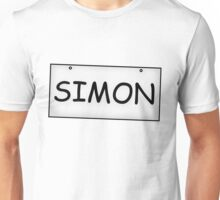 Simon's Sign Unisex T-Shirt