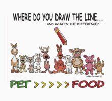 Draw the line. by ANIMAL WELFARE  CARTOONS NRT