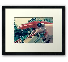 Faded Seaside Delight Framed Print