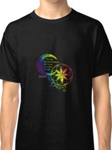 Rainbow Inspirational Dream Quote Classic T-Shirt
