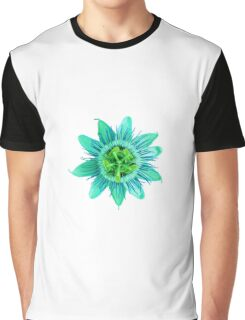 Passion in Green Graphic T-Shirt
