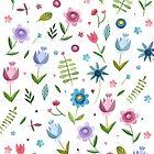 Summer flowers by taoart