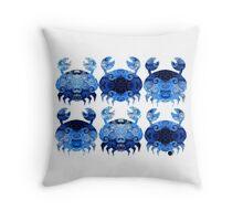Snow Crab Throw Pillow