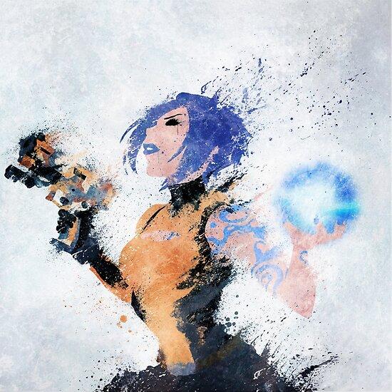 Blue Beauty by melissa-smith