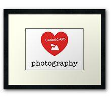 landscape photography Framed Print