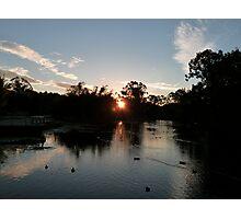 Lake Sunset Photographic Print