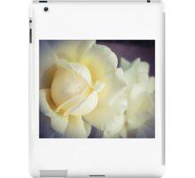 White Fluff iPad Case/Skin