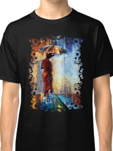 Mary the Umbrella Girl abstract art painting Classic T-Shirt
