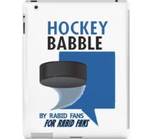 Hockey Babble iPad Case/Skin