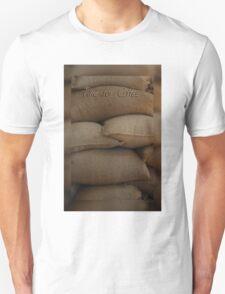 Coffee Time Card © Vicki FerrarI Unisex T-Shirt