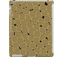 Golden Circles  iPad Case/Skin