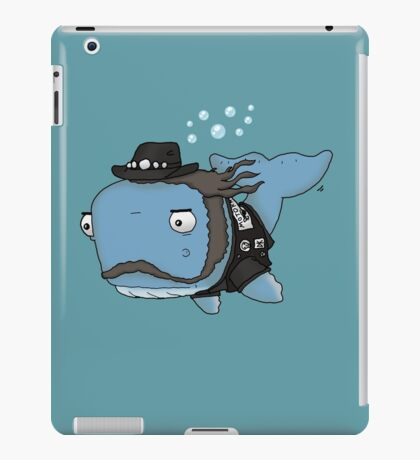 Lemmy the Whale iPad Case/Skin