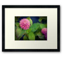 Teeny Flower Framed Print