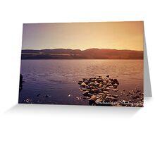 loch ness lake, Scotland Greeting Card