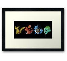 Starters v.2 Framed Print