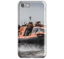 Morecambe Lifeboat - The Hurley Flyer iPhone Case/Skin